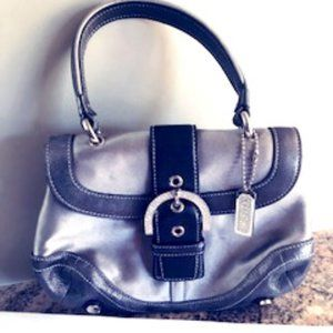 Coach Rare Mini Leather Hand bag